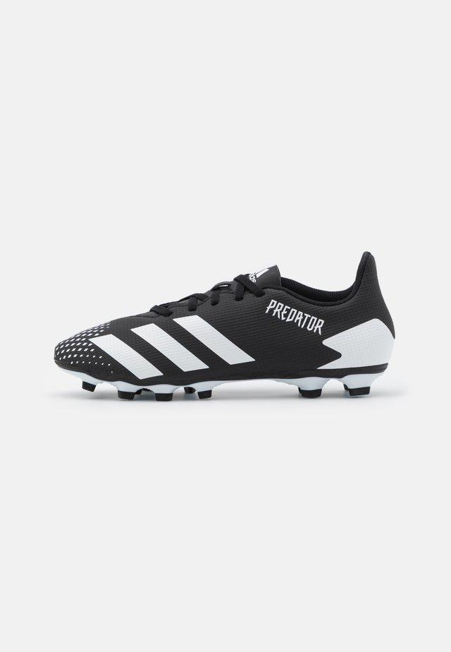 PREDATOR 20.4 FOOTBALL BOOTS FIRM GROUND - Scarpe da calcetto con tacchetti - core black/footwear white