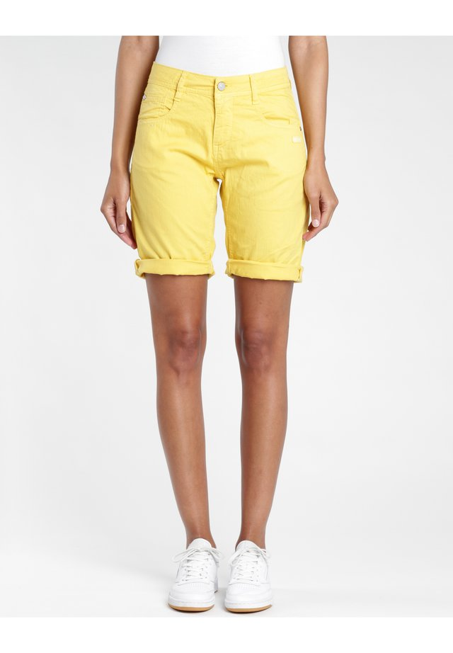AMELIE  - Shorts - yellow orange gmd