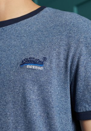 ORANGE LABEL - T-Shirt basic - vintage deep blue grit