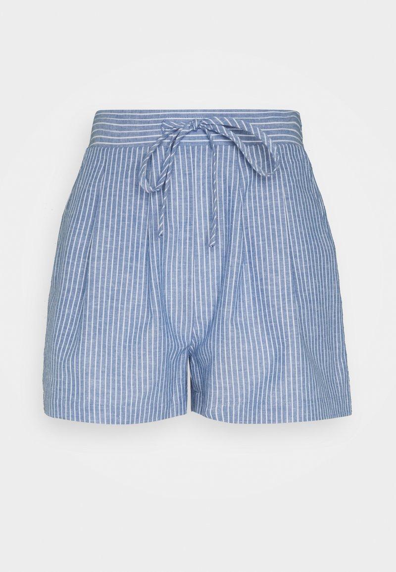 VILA PETITE - VIDUFFY - Shorts - colony blue/white