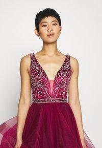 Luxuar Fashion - Vestido de fiesta - weinrot - 3