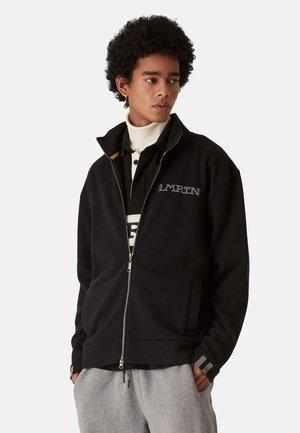 SIRIO - Zip-up sweatshirt - black