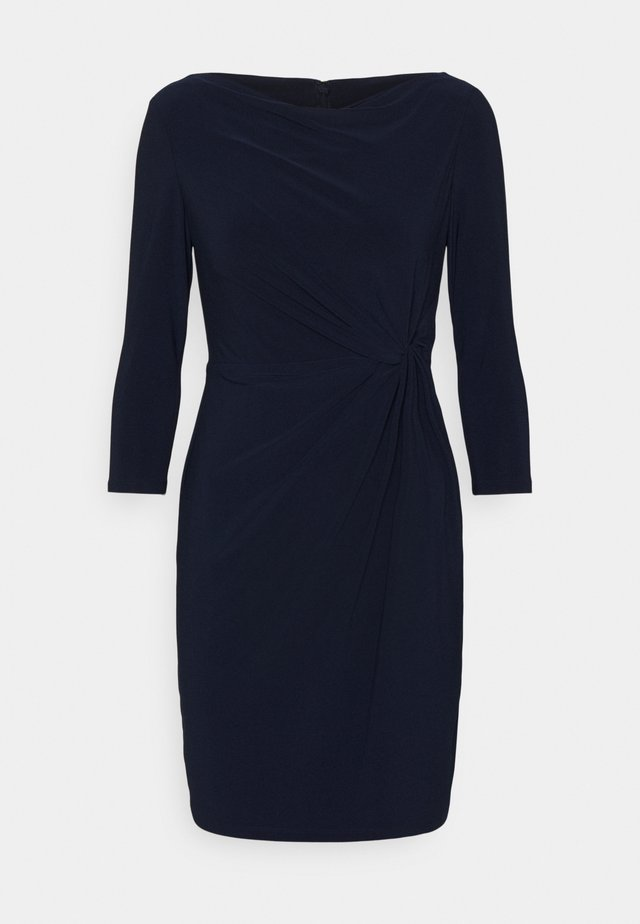 TRAVA 3/4 SLEEVE DAY DRESS - Robe fourreau - lighthouse navy
