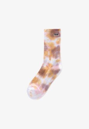 WM TIE DYED CREW SOCK (6.5-10, 1PK) - Socks - golden tie dye