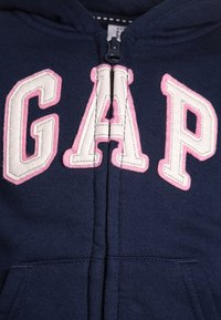 GAP - TODDLER GIRL LOGO - Felpa aperta - elysian blue
