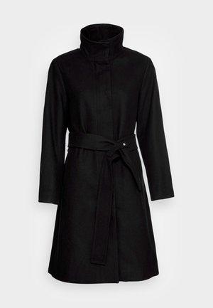CILJA CREW COAT - Classic coat - black