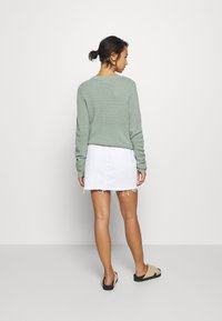 Dr.Denim Petite - MALLORY - Denim skirt - white - 2