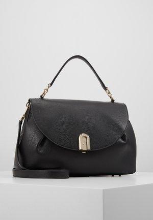 SLEEK TOP HANDLE - Handbag - onyx