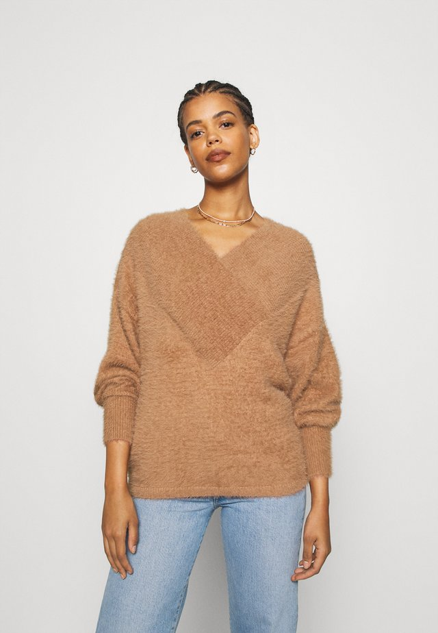 YASFLEURA - Pullover - tawny brown