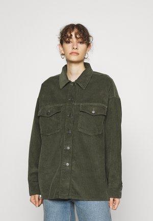 MEL SHIRT - Summer jacket - cilantro