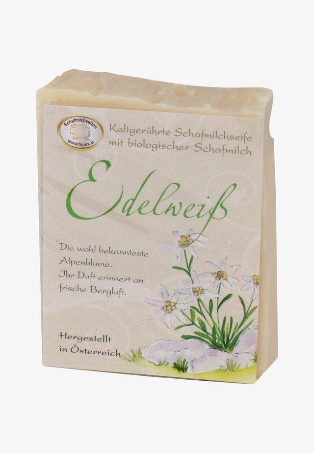 KALTGERÜHRTE SCHAFMILCHSEIFE EDELWEISS 150 G  - Soap bar - -