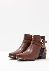 Caprice - Ankle boots - brandy/ocean - 4