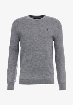 Trui - fawn grey heather