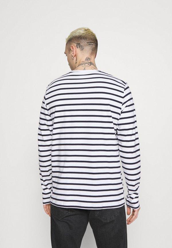 Esprit Bluzka z długim rękawem - white/biały Odzież Męska KHPS