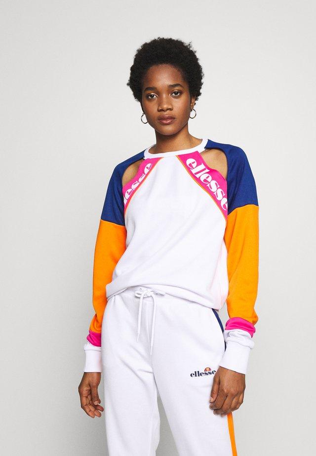 MAURA - Sweatshirt - white
