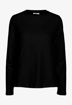 MIT LANGEN ÄRMELN BASIC - Long sleeved top - black