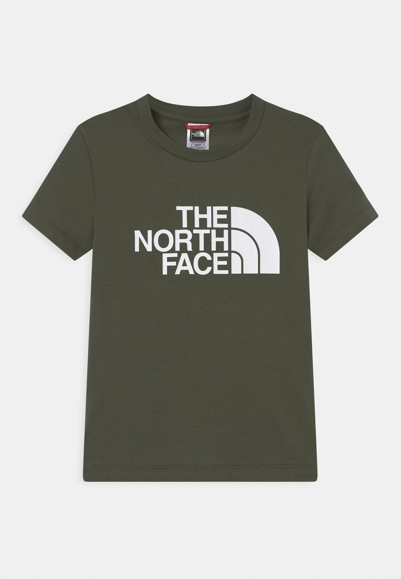 The North Face - YOUTH EASY UNISEX - Print T-shirt - green/white