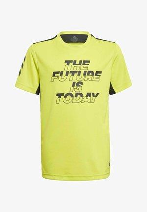 XFG AEROREADY PRIMEBLUE T-SHIRT - T-shirt imprimé - yellow
