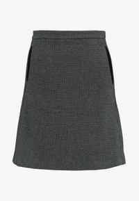 GANT - DOGTOOTH SKIRT - A-line skirt - dark grey melange - 3