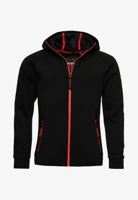 Superdry - GYM TECH STRETCH  - Training jacket - black - 5
