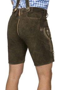 Stockerpoint - BEPPO  - Pantaloni di pelle - bison - 3