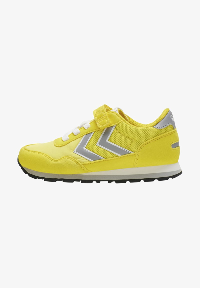 Hummel - REFLEX JR UNISEX - Trainers - yellow
