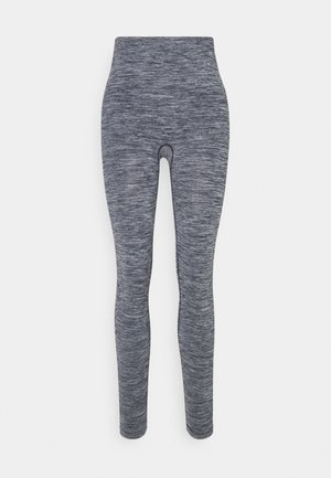 ESSENTIAL SEAMLESS  - Leggings - midnight blue melange