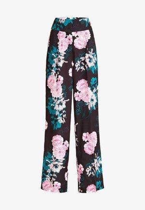 Pantaloni - fantaisie florale