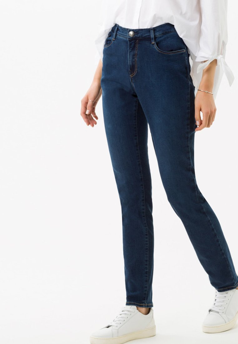 BRAX - STYLE CAROLA - Jeans Straight Leg - blue