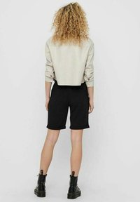 ONLY - Faux leather jacket - pumice stone - 2