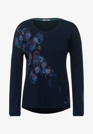MIT PAISLEY-DESIGN - Long sleeved top - blau