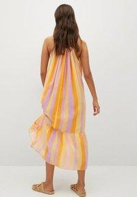 Mango - Vapaa-ajan mekko - yellow - 1