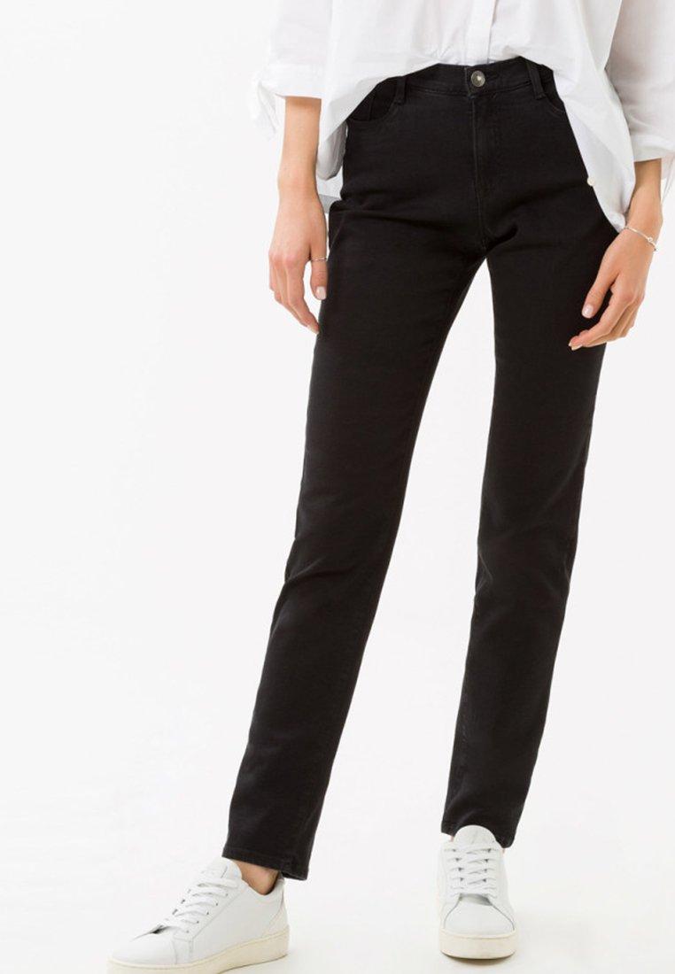 BRAX - STYLE MARY - Slim fit jeans -  black
