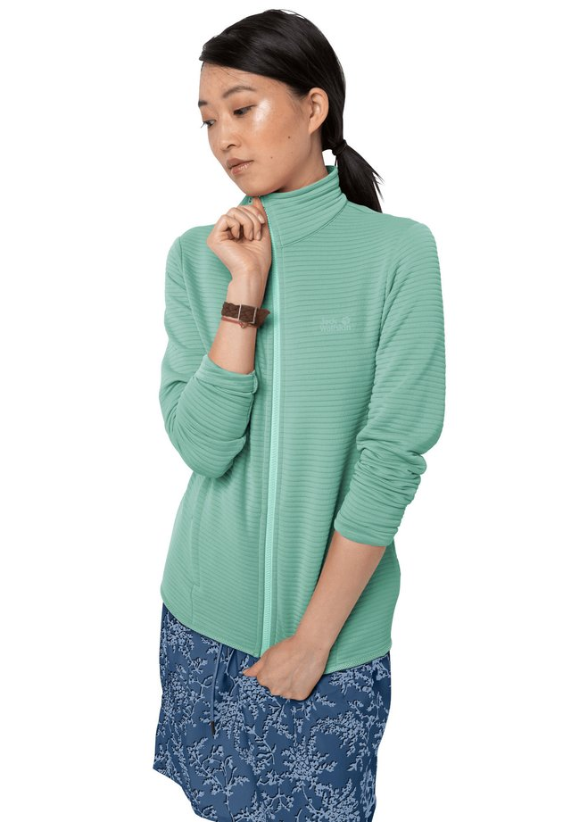 MODESTO - Fleece jacket - light jade