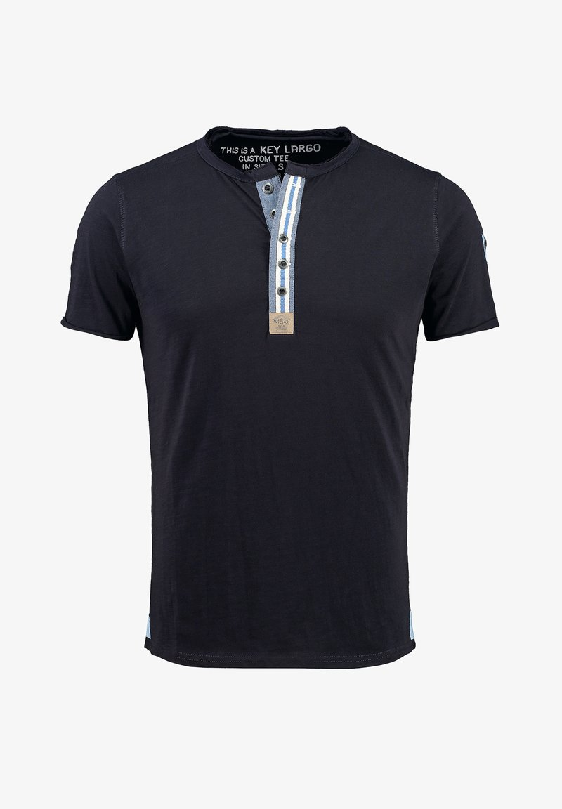 Key Largo - ARENA  - Print T-shirt - navy