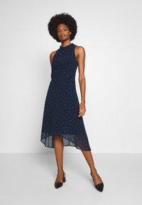 Esprit Collection - FLUENT GEORGE - Day dress - navy - 0