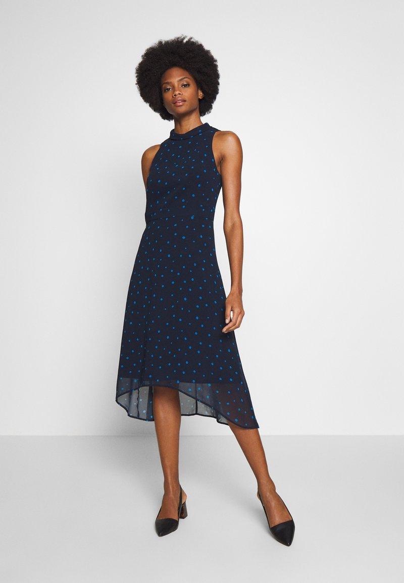 Esprit Collection - FLUENT GEORGE - Day dress - navy