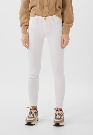 BASIC - Jeans Skinny Fit - white
