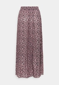 PIECES Tall - PCGWENA MIDI SKIRT - A-linjainen hame - winsome orchid/artsy flowers - 1