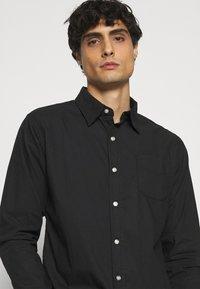 Schott - MARTIN - Shirt - black - 3