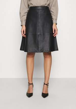 LAURENE SKIRT - A-Linien-Rock - black