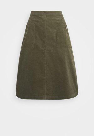 SKIRT - Áčková sukně - army green