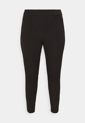 VMIVY ANKLE SLIM PANT - Broek - black