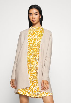 VILALAINE LONG CARDIGAN - Cardigan - birch