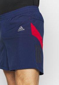 adidas Performance - OWN THE RUN SHORT - Urheilushortsit - dark blue - 4