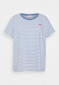 Levi's® Plus - PERFECT CREW - Print T-shirt - silphium blue - 3
