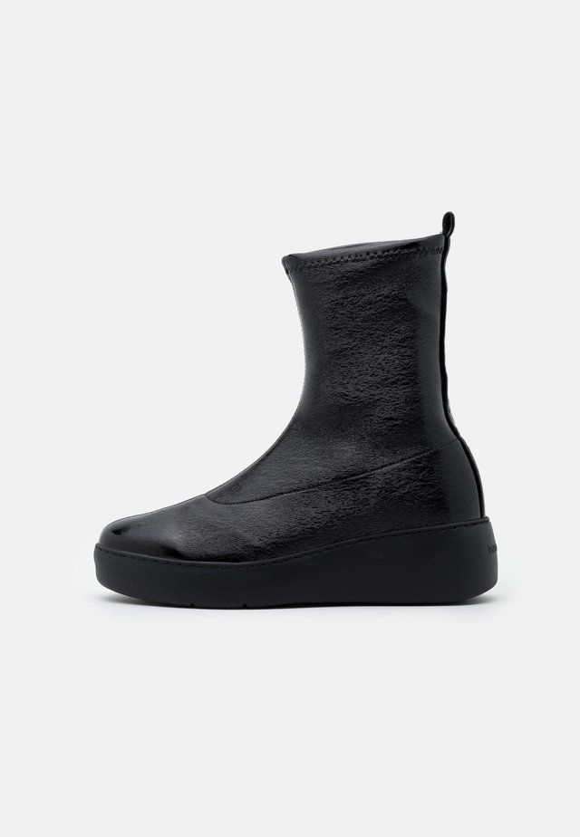Platform ankle boots - master nero