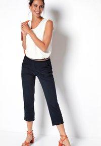 TONI - SUE - Trousers - darkblue - 1
