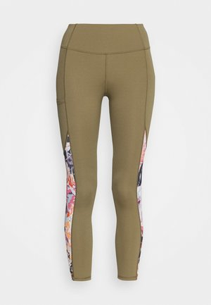 Leggings - covert green
