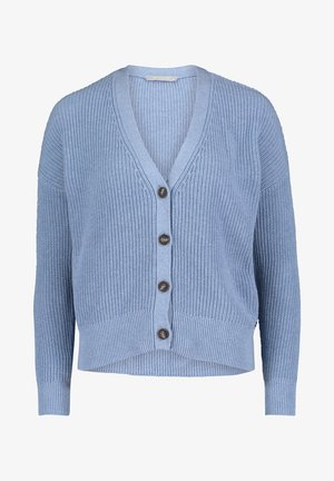 Cardigan - light blue melange